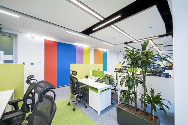 Zdjęcie wnętrza biur Provident